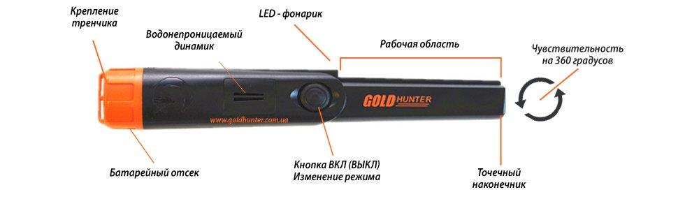 Gold Hunter TM - Характеристики