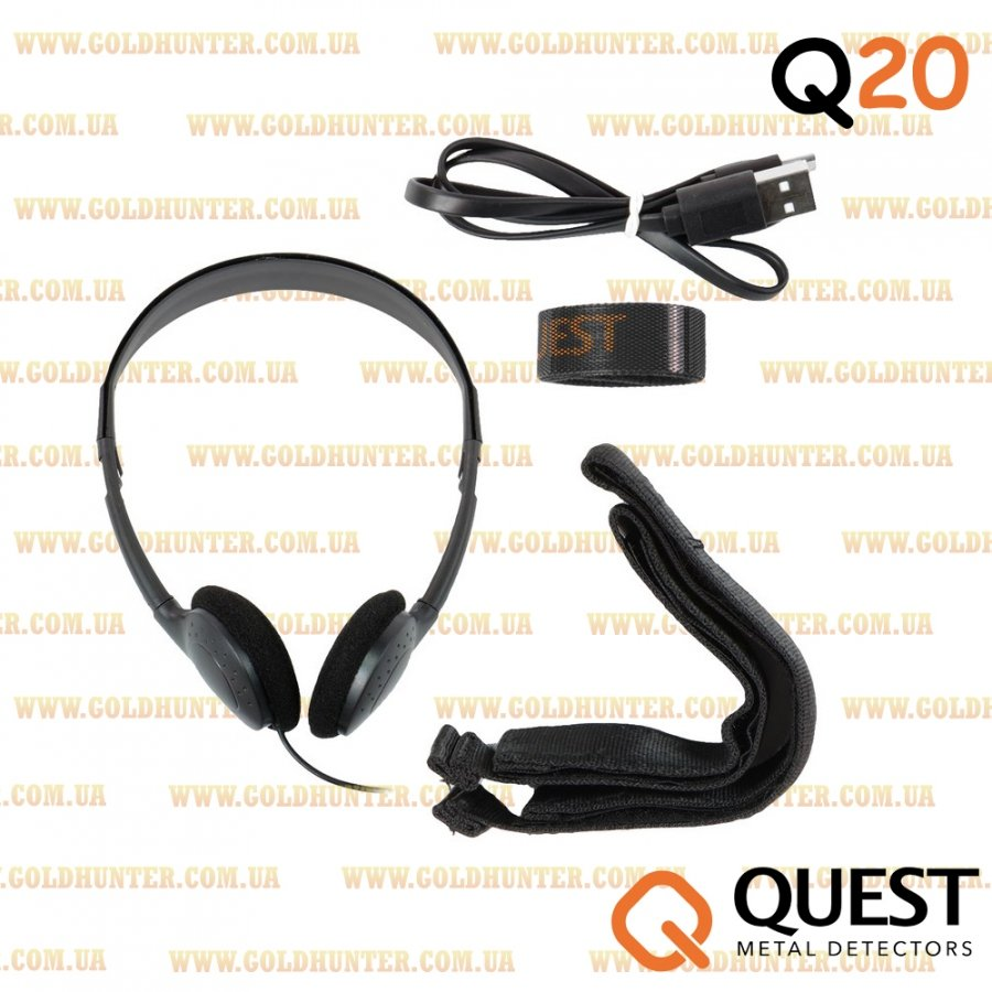 Металлоискатель Quest Q20 (грунтовой) - 1