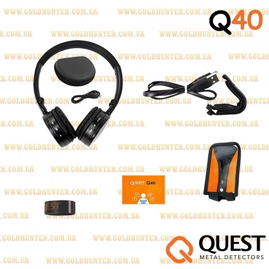 Металлоискатель Quest Q40 Новинка! - 1