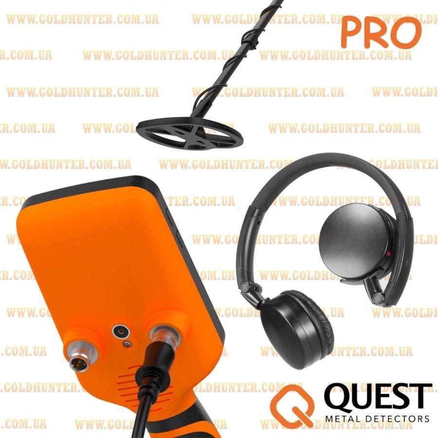 Подводный металлоискатель Deteknix Quest PRO - 1